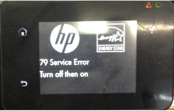 79 service error