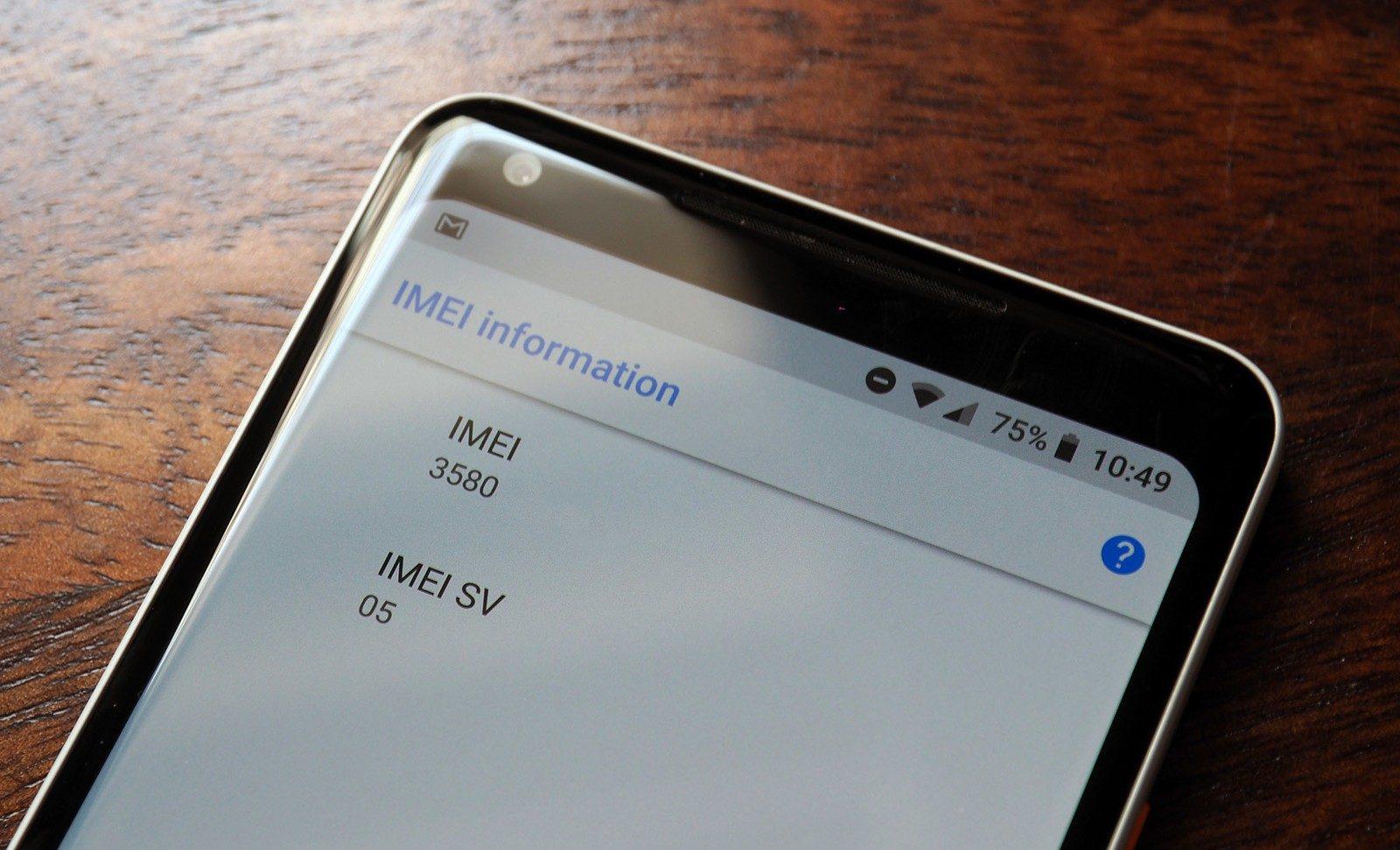 Как посмотреть IMEI на Андроиде