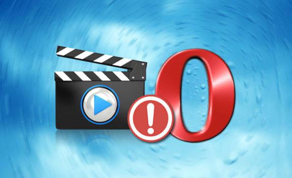 Что делать, если не показывает видео в браузере опера